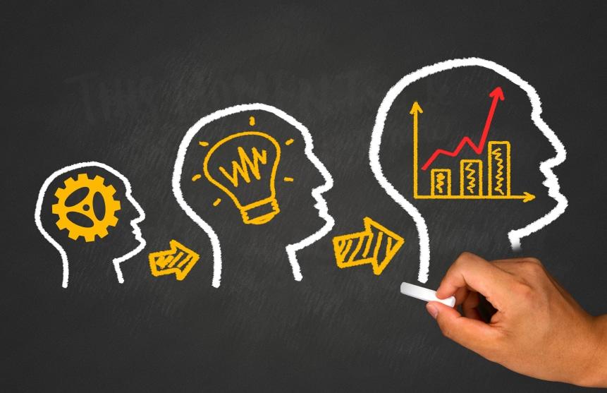 idea ,teamwork and business concept